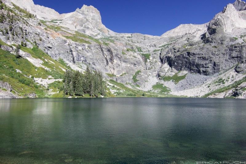 Upper Hamilton Lake, High Sierra Trail