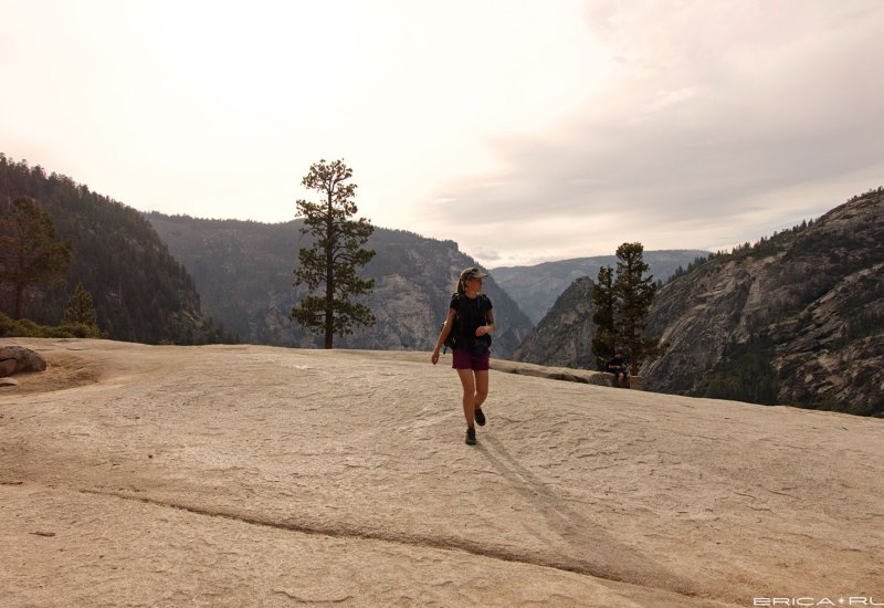 Me at the top of Nevada Falls this year
