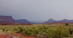Utah high desert in the rain