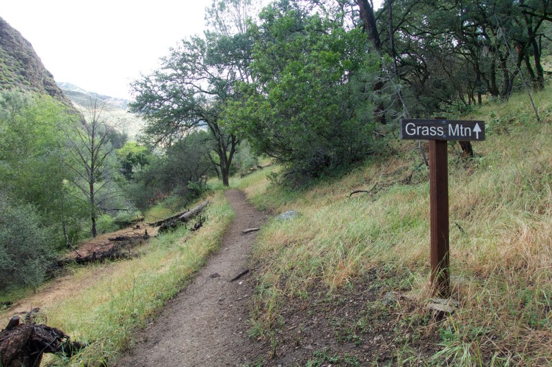 Grass Mountain Trail - Santa Ynez