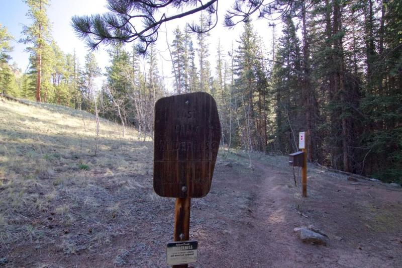 Lost Creek Wilderness Boundary