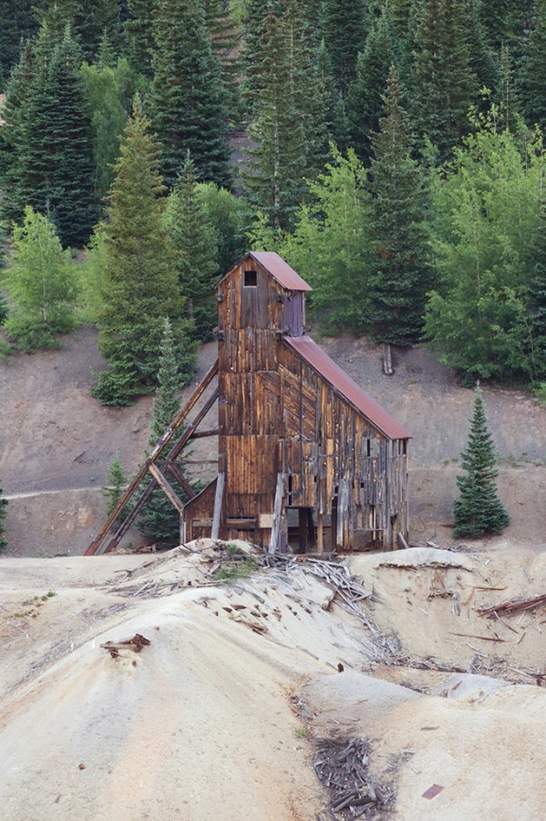 The San Juans are infested with mining ruins