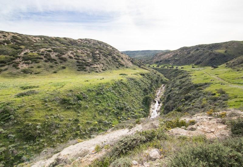 Water Canyon Campground, Santa Rosa Island