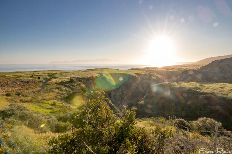 Sunrise on Santa Rosa Island