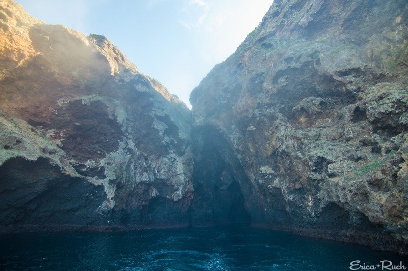Entrance to Painted Cave, Santa Cruz Island