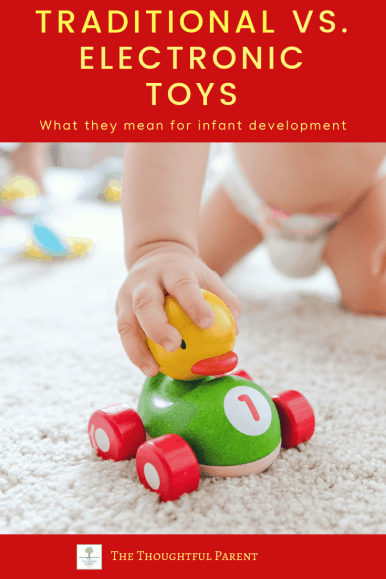 Electronic versus traditional toys