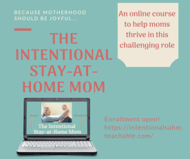 stay-at-home mom course