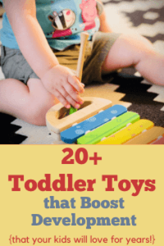 best toys for toddler development
