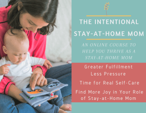 online course for stay at home moms