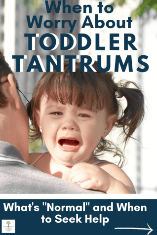 how to cope with toddler tantrums