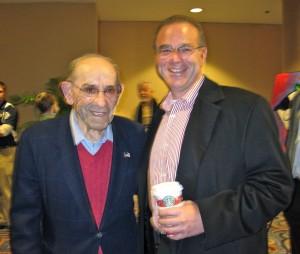 Yogi Berra and Peter Winick