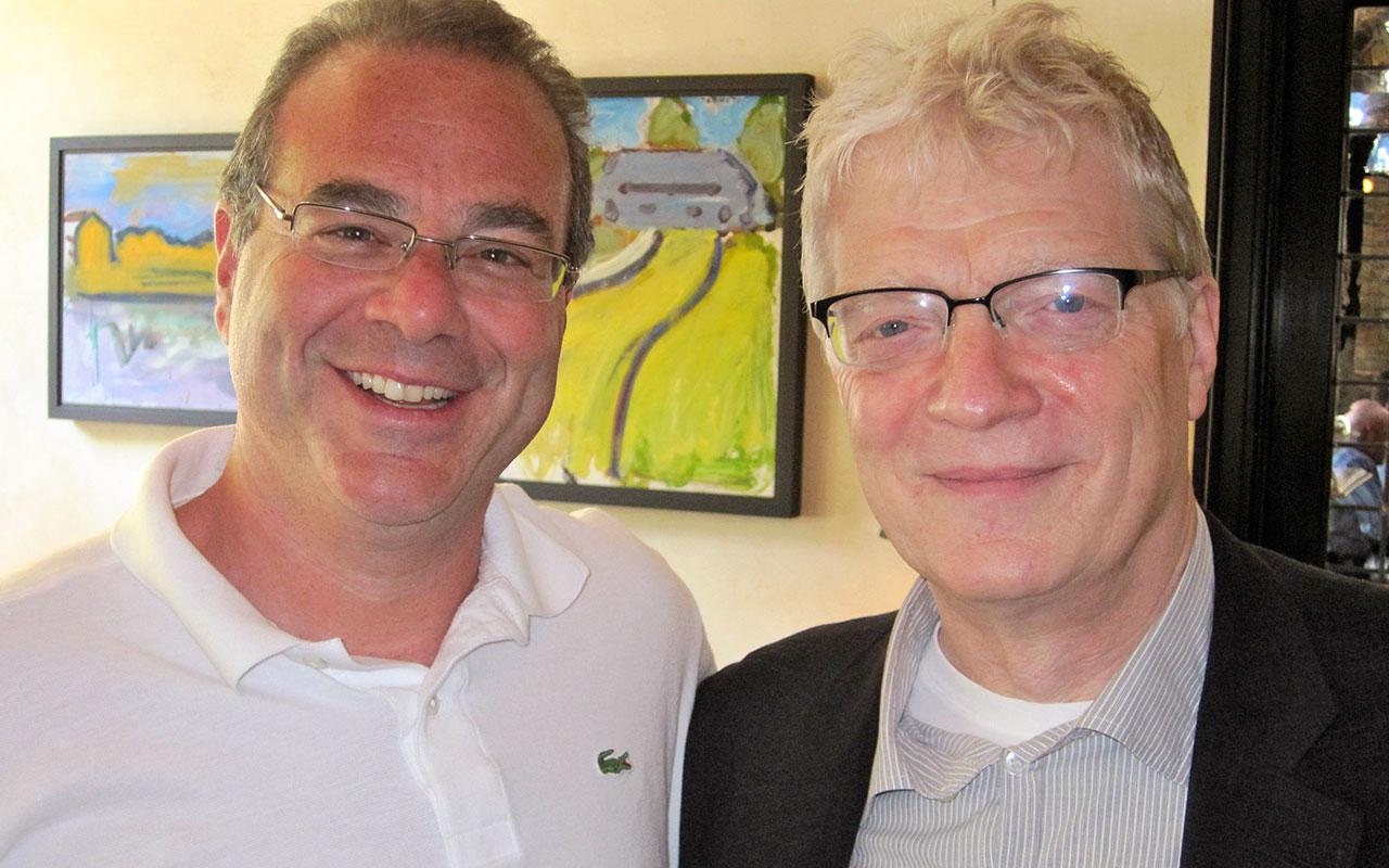 Peter Winick and Sir Ken Robinson