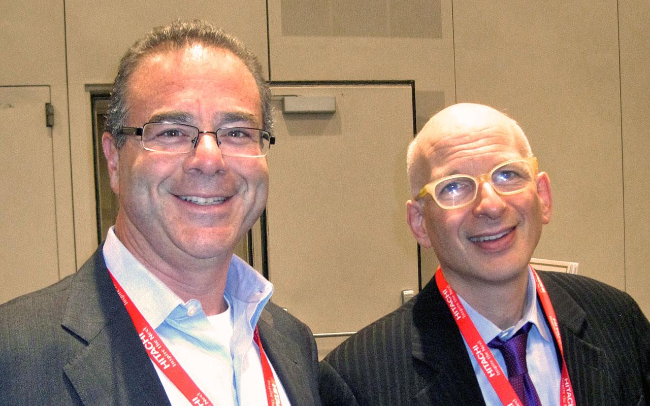 Peter Winick and Seth Godin