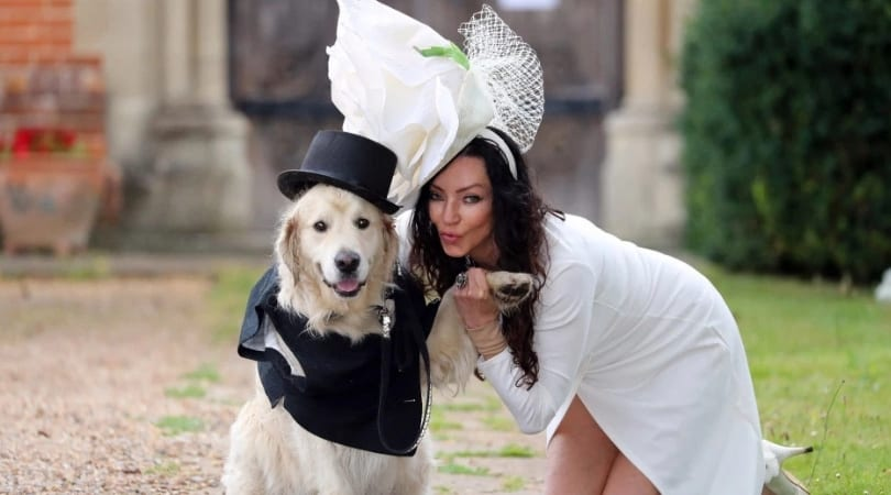 after 220 bad dates with men, this former model decides to marry her dog