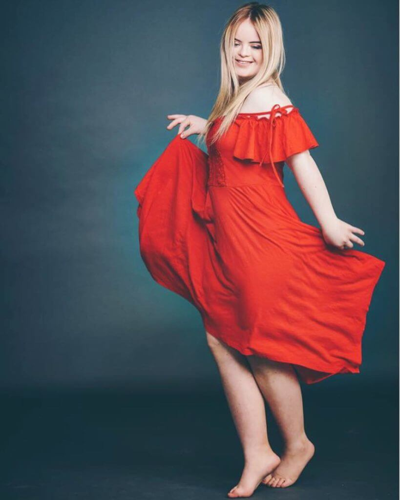 young down syndrome model becomes 'benefit cosmetics' brand ambassador