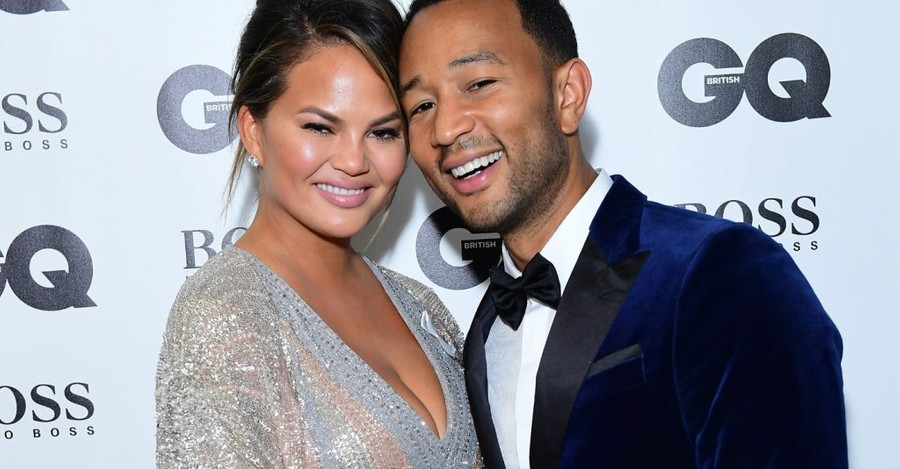 Chrissy Teigen and John Legend are thinking about leaving the US because of President Trump