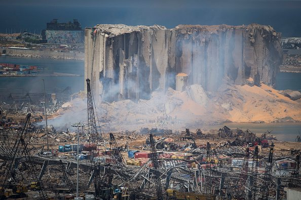 horrifying images show devastating aftermath of beirut explosion