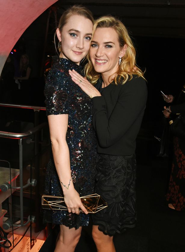 'sex with kate winslet was the best gift i could have asked for', says saoirse ronan