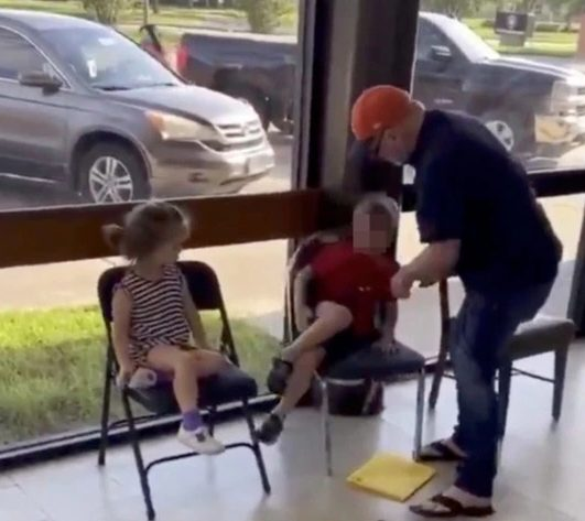 dad divides the internet with 'disgusting' punishment for misbehaving child