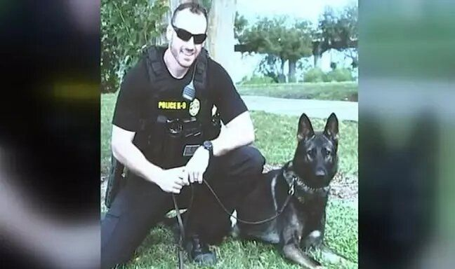 19-year old sentenced to 25 years after fatally shooting police dog named fang