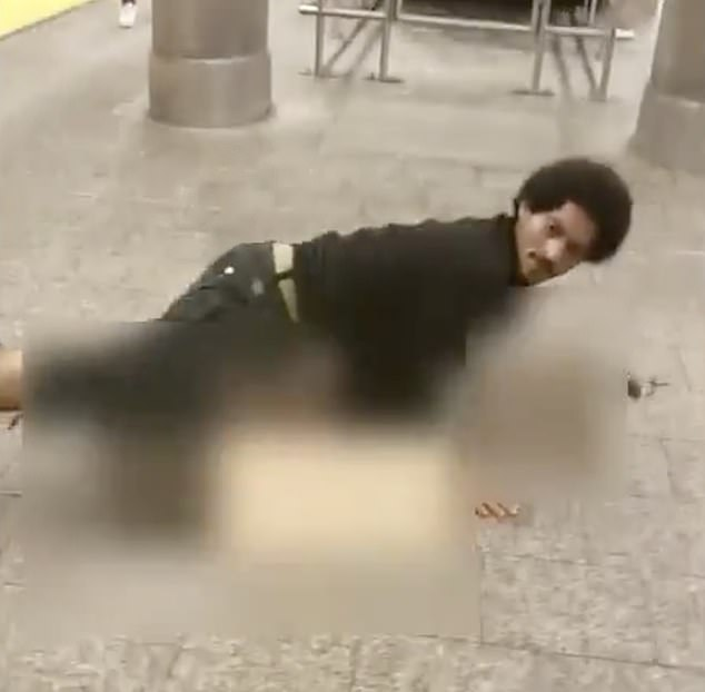 horrifying video shows man attempting to rape woman in broad daylight in nyc, bystanders don't intervene