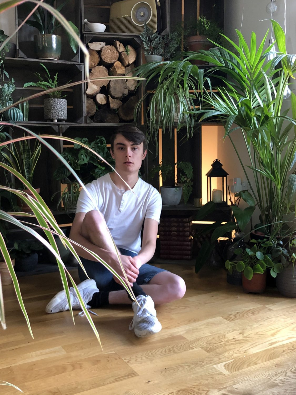 self-confessed 'jungle boy' has 1,400 house plants that take him hours to water every day