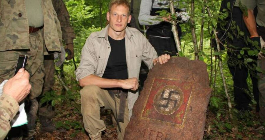 trove of nazi artifacts found inside the 'wolf's lair,' hitler's top-secret hideout on the eastern front