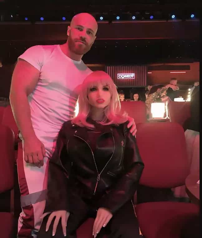 bodybuilder vows to marry his sex doll after 8 month relationship