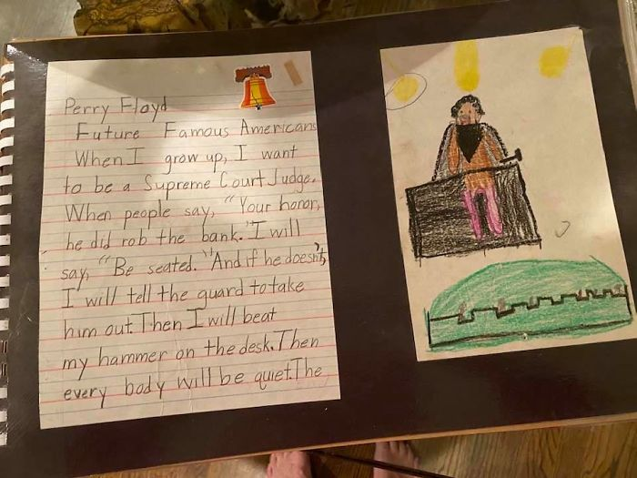 george floyd's 2nd-grade teacher kept his essay on his dream of bringing justice to the world