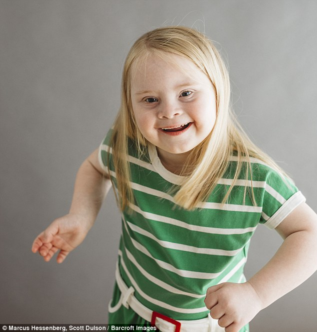 little girl with downs syndrome breaks the mold and becomes successful model