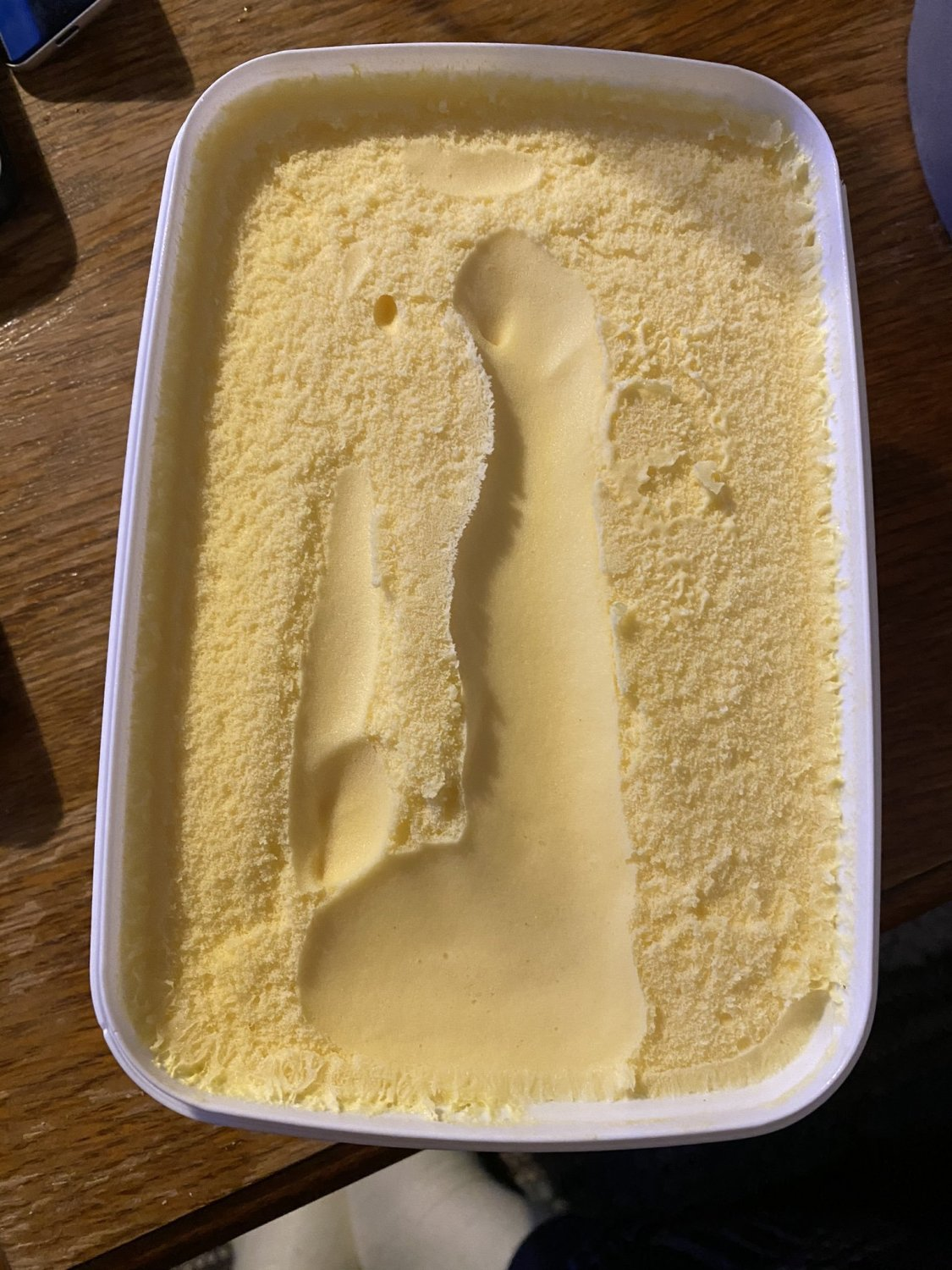 man asks tesco if they had a 'fun time' with his ice cream after x-rated imprint