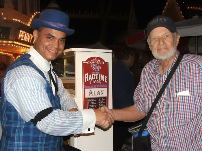 meet disneyland's first-ever customer—he's been using his lifetime ticket every year since 1955
