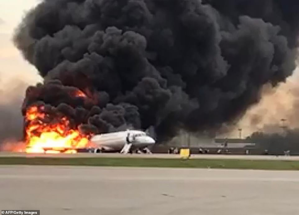 overweight survivor of a plane crash for blocking others from escaping