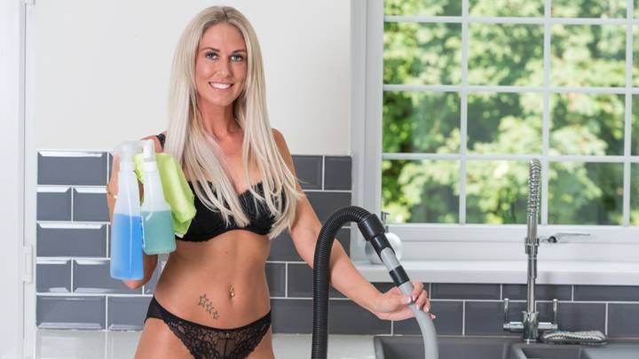naked cleaning company boss says that business is booming post lockdown