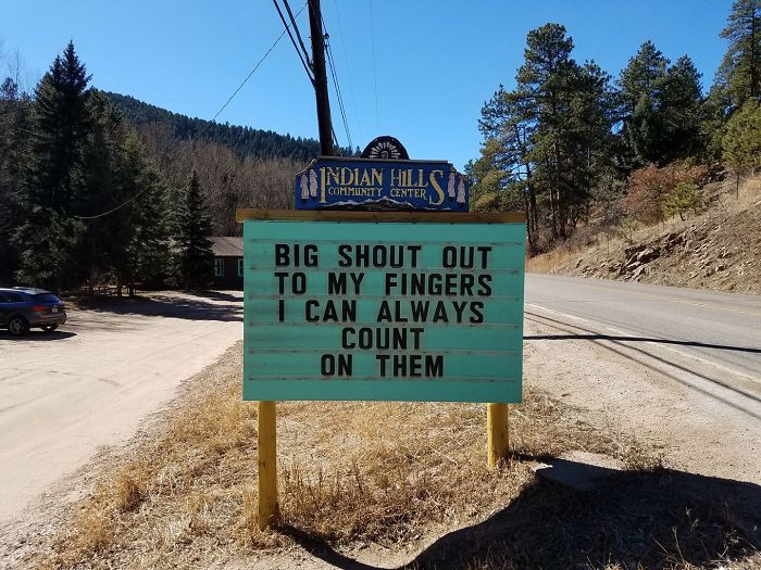 someone is putting the funniest signs ever in colorado, and the puns are priceless (30 pics)