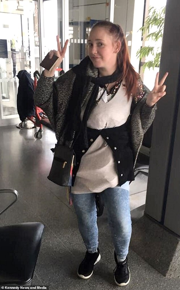 mom wears 4kg on herself to avoid thomas cook excess baggage charge