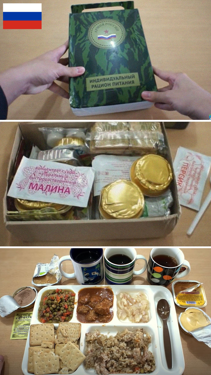 this is how military food rations look for different armies (14 pics)