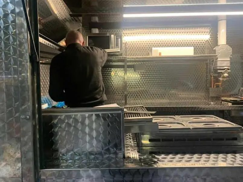 food truck owner who had van torched now has new vehicle