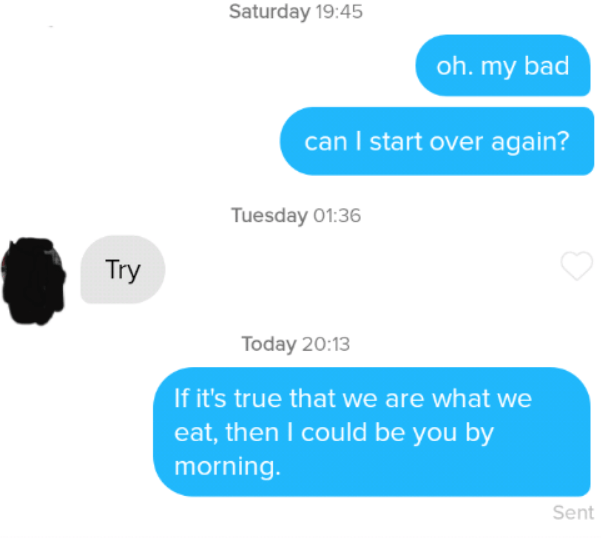 30+ funny tinder pick up lines that also work as dad jokes