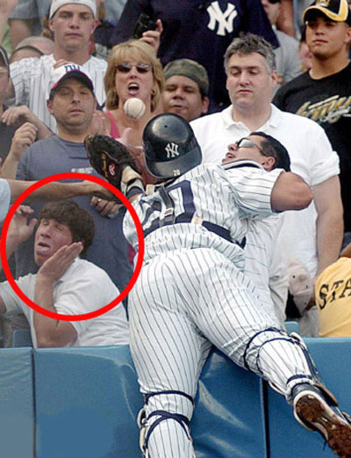 24 people who were caught on camera when they least expected it