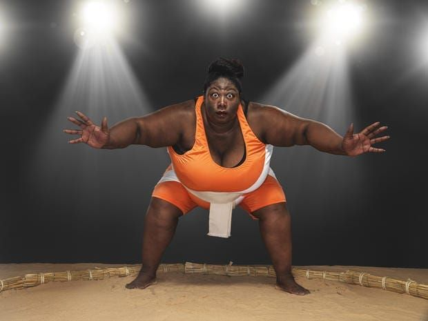 the world's largest athletes – they are truly massive