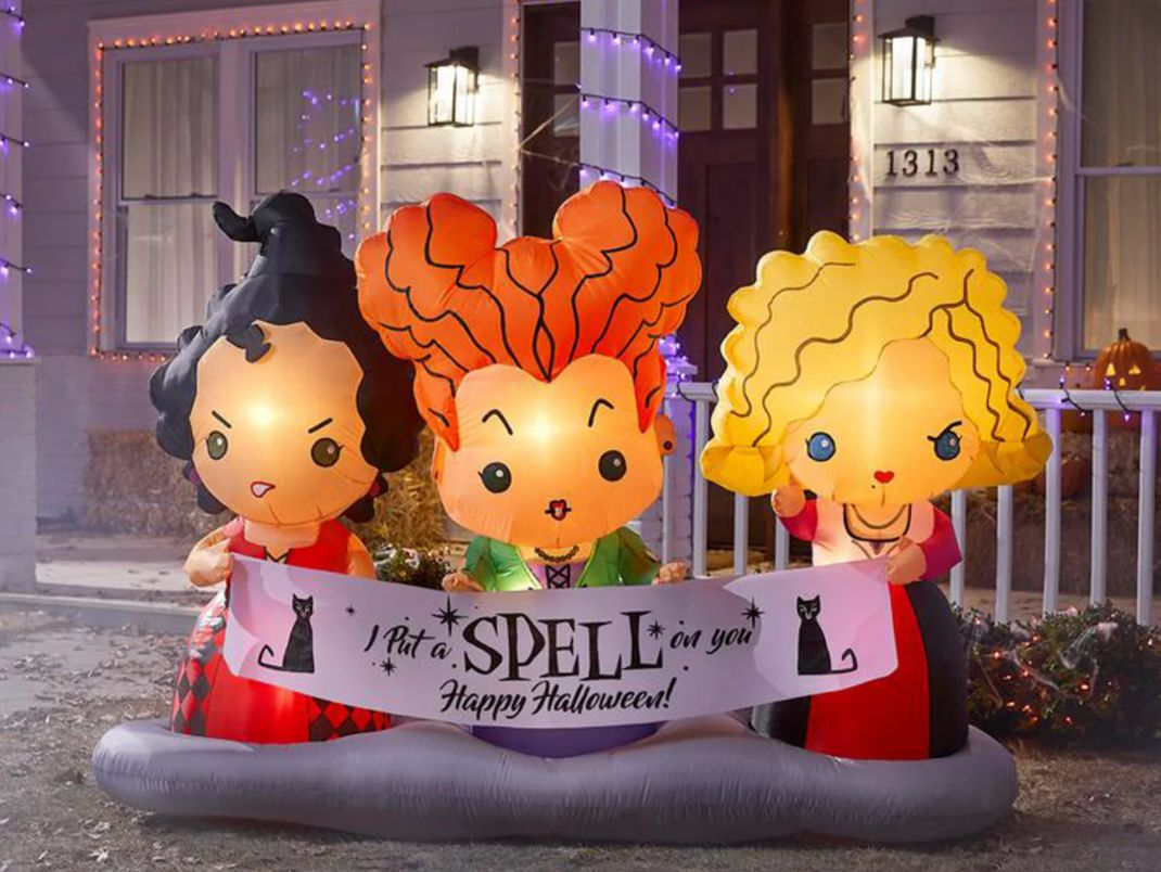 Amok, Amok, Amok! Home Depot Is Selling A 'hocus Pocus' Inflatable To Bring The Sanderson Sisters To Life