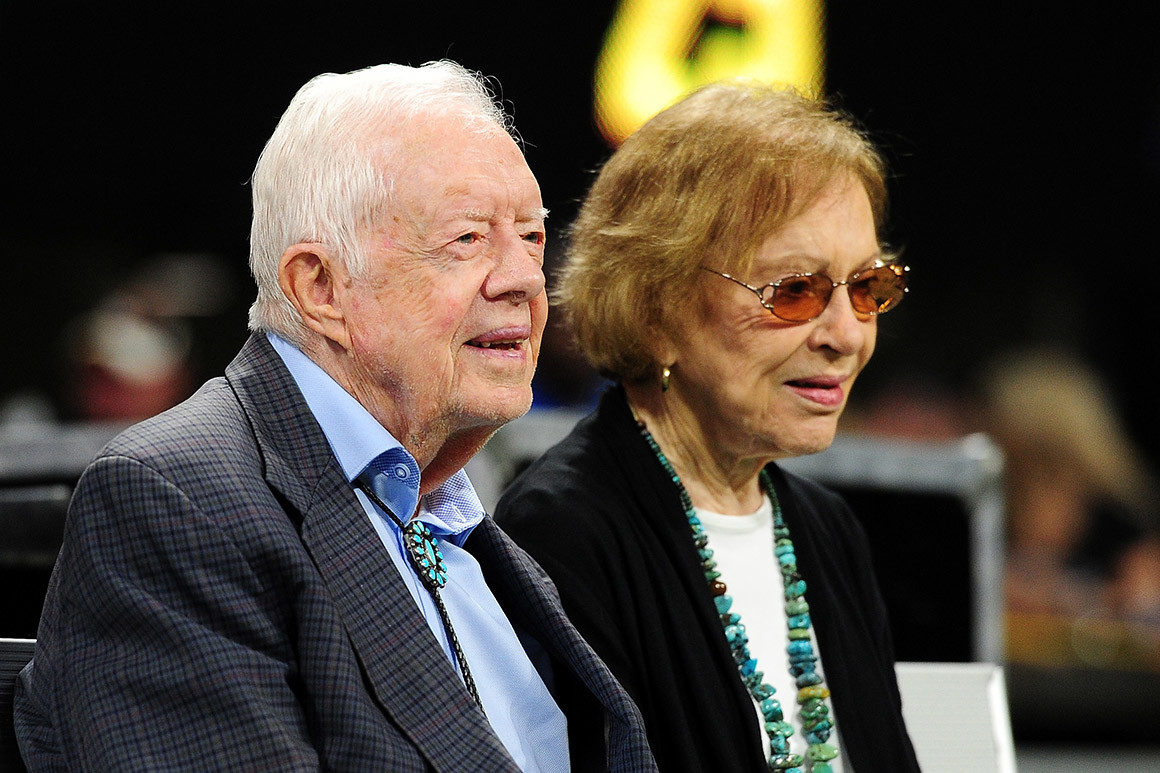 Jimmy Carter, 96, Gushes About Wife Rosalynn, 93, Ahead Of 75th Wedding Anniversary Celebration