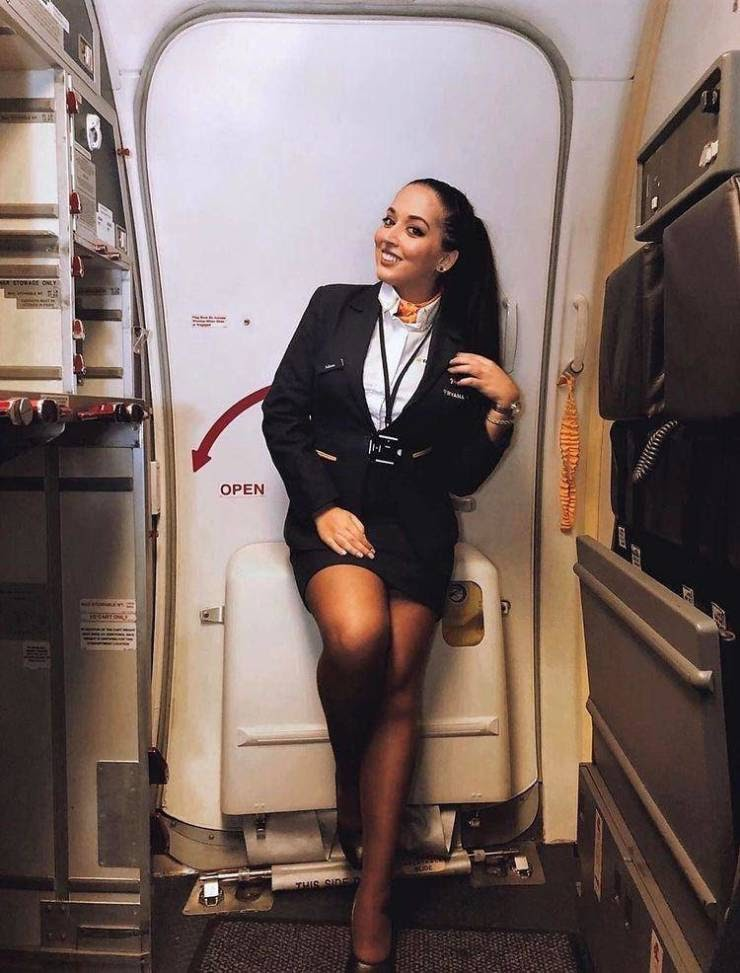 Ready To Fly With These Hot Flight Attendants?