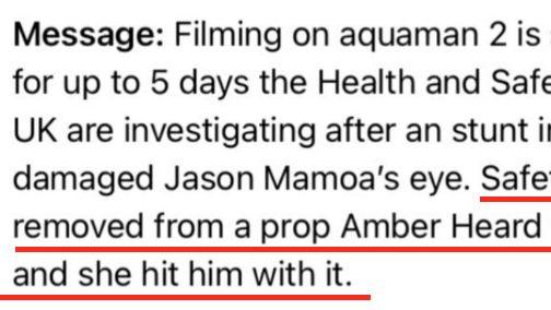 Amber Heard Hits Jason Momoa