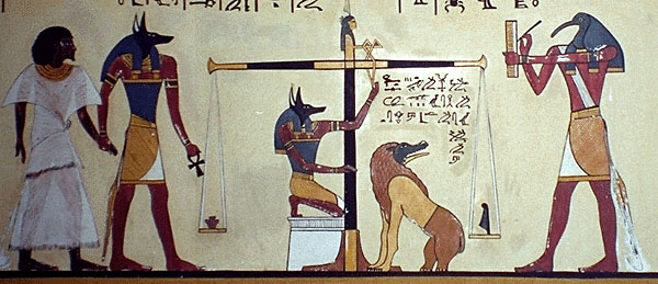 Anubis, Unique Egyptian God Of Death With Dog Head