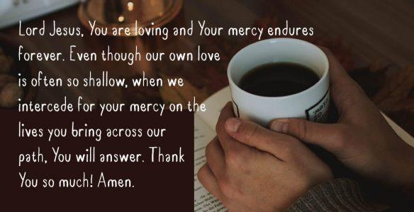 Prayers of Mercy