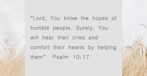 He Hears Our Cries
