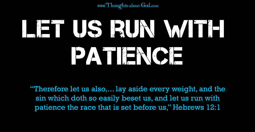 Image result for RUN WITH PATIENCE