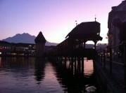 The famous bridge - Luzern